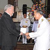 Sergio Henrique Ferreira recebe o prêmio do Rei da Tailândia